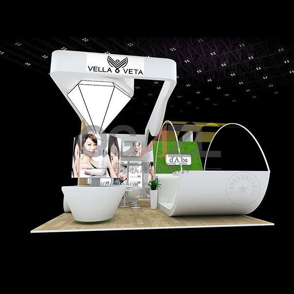 紫薇-展台搭建设计